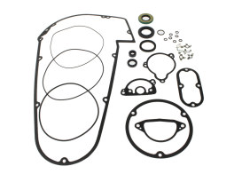 Primary Cover Gasket Kit. Fits Big Twin 1965-1986 with 4 Speed Transmission & Softail 1984-1988.