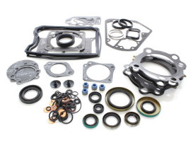 Engine Gasket Kit with Multi-Layer Steel (MLS) Head Gaskets. Fits Big Twin 1984-1991.