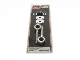 Rear Axle Adjusting Kit - Chrome. Fits Sportster 1997-2004.