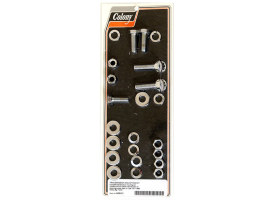 Colony Trans Mount Kit; Big Twin'L77-86 Chr