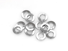 1/4in. Lock Washer - Chrome. Pack 12.