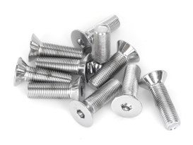 7/16-20 x 1-1/2in. UNF Polished Flat Head Allen Bolt - Chrome.