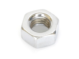 Nut; 7/16-14 UNC. Hex Nut with Chrome Finish. (Each)