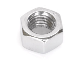 Nut; 1/2-13. Hex Nut with Chrome Finish. (Each)
