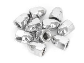 1/2-20 UNF Acorn OEM Style Nut - Chrome.