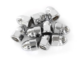 Colony Machine Nut; 5/16-18 UNC. Acorn OEM Style Nut with Chrome Finish. (Pack 10)
