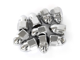 Colony Machine Nut; 3/8-16 UNC. Acorn OEM Style Nut with Chrome Finish. (Pack 10)