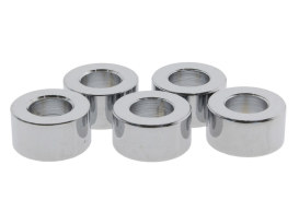 3/8in. x 3/8in. Steel Spacer - Chrome.
