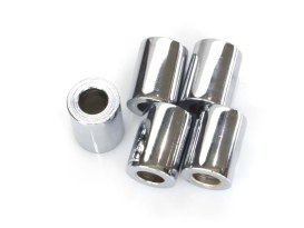 3/8in. x 1in. Steel Spacer - Chrome.