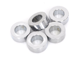 1/2in. x 3/8in. Steel Spacer - Chrome.