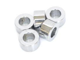 1/2in. x 1/2in. Steel Spacer - Chrome.