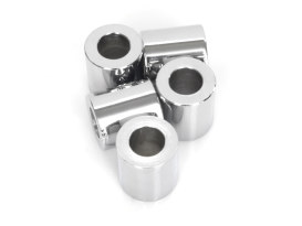 1/2in. x 1in. Steel Spacer - Chrome.
