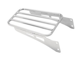 Luggage Rack - Chrome. Fits Yamaha V-Star XVS650 Classic 1998up.
