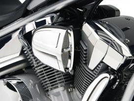 PowrFlo Air Intake System - Chrome. Fits Kawasaki Vulcan VN900 2006up.