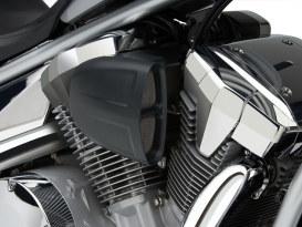 PowrFlo Air Intake System - Black. Fits Kawasaki Vulcan VN900 2006up.