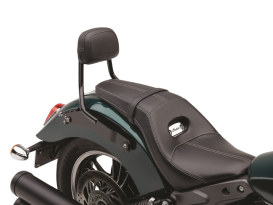Quick Detachable Sissy Bar Kit - Black. Fits Scout 2015up with Dual Seat.