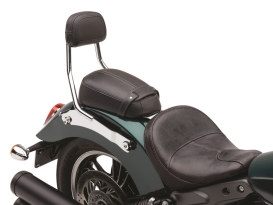 Quick Detachable Sissy Bar Kit - Chrome. Fits Scout 2015up with Solo Seat & Seperate Pillion Pad.