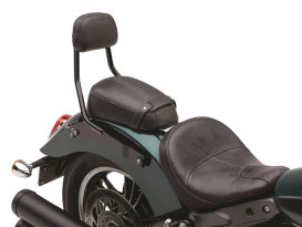 Quick Detachable Sissy Bar Kit - Black. Fits Scout 2015up with Solo Seat & Seperate Pillion Pad.