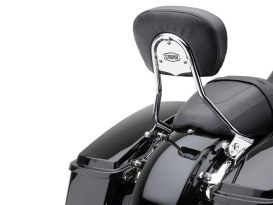 Short Quick Detachable Sissy Bar Kit - Chrome. Fits Touring 2014up.