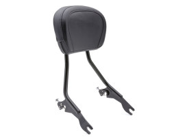 Short Quick Detachable Sissy Bar Kit - Black. Fits Touring 2014up.