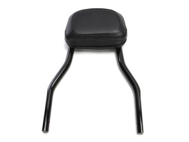 Short Quick Detachable Sissy Bar Kit - Black. Fits Sportster 2004up.
