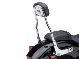 Short Quick Detachable Sissy Bar Kit - Chrome. Fits Low Rider 2018up & Low Rider S 20up.