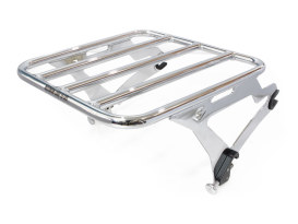 Quick Detachable Luggage Rack - Chrome. Fits Cobra Sissy Bar # COB-602-2000.