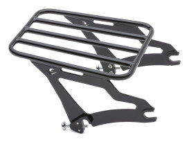 Quick Detachable Luggage Rack - Black. Fits Cobra Sissy Bar # COB- 602-2000B.