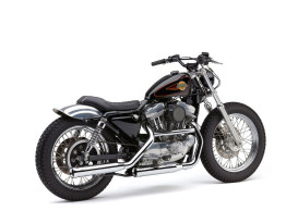 3in. Neighbor Hater Slip-On Mufflers - Chrome. Fits Sportster 1986-2003.