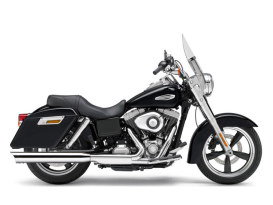 4in. Slip-On Muffler - Chrome with Scalloped Tip. Fits Dyna Switchback 2012-2016 & Low Rider 2015-2017.