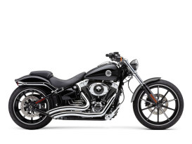 Speedster Short Swept Exhaust with Chrome Finish. Fits Suits Breakout 2013-2017 & Rocker 2008-2011 Models.