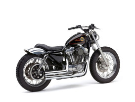 Speedster 909 Exhaust - Chrome. Fits Sportster 1986-2003.