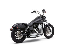 Speedster 909 Exhaust - Chrome. Fits Dyna 2006-2017.
