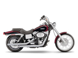 Straightshot Dragster Exhaust - Chrome. Fits Dyna 2006-2017.