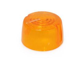 Turn Signal Lens - Amber. Fits FX, FXR & Sportster 1973-1985.