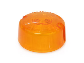 Turn Signal Lens with Amber Finish. Fits FXST, Sportster & Dyna 1986-2001 Models.