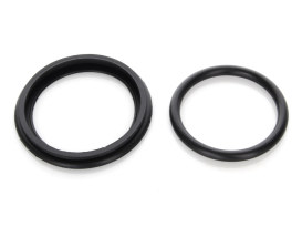 Front & Rear Caliper Seal Kit. Fits Big Twin 1973-1980 with Banana Calipers.