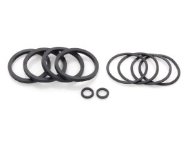 Front & Rear Caliper Seal Kit. Fits Big Twin 2000-2007 & Sportster 2000-2003.