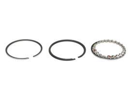+.030in. Size Cast Piston Rings. Fits 74ci/1200cc Big Twin 1948-1980.