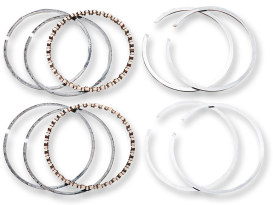Standard Size Moly Piston Rings. Fits 96ci Twin Cam 2007-2011.
