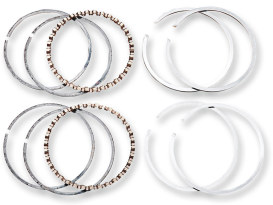 +.010in. Size Moly Piston Rings. Fits 95ci & 103ci Twin Cam 1999-2017.