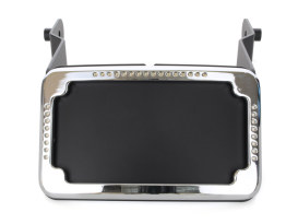 Tail Tidy Fender Eliminator Kit - Chrome With Run/Turn/Brake And Number Plate Lights. Fits Dyna Street Bob 2013-2017 and Dyna Low Rider 'S' 2016-2017.