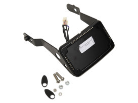Tail Tidy Fender Eliminator Kit - Black With Run/Turn/Brake And Number Plate Lights. Fits Dyna StreetBob 2013-2017 and Dyna Low Rider 'S' 2016-2017.