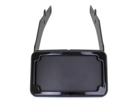 Tail Tidy Fender Eliminator Kit - Black with Number Plate Light Only. Fits Softail Slim 2012-2017.