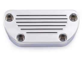 Clamp - Chrome. Fits HLY-5000X, HLY-5011/5027, HLY-6000, MCV and MCL-5### Series Gauges to OEM Style Straight Risers.