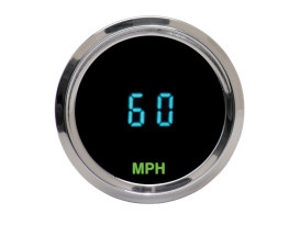 2-1/16in. Round Mini KPH Speedometer.
