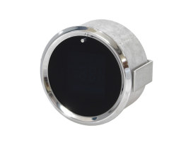3-3/8in. Round Performance Style KPH Speedometer with Tachometer & Indicators.