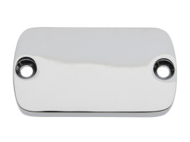 Front Master Cylinder Cap - Chrome. Fits Big Twin & Sportster 1972-1981.