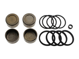 Front Caliper Rebuild Kit with Pistons & Seals. Fits Softail 2008-2014 & Dyna 2008-2017.