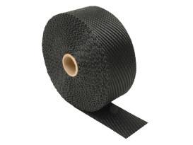 Black Titanium Heat Wrap. 2in. Wide x 100 Foot Roll.